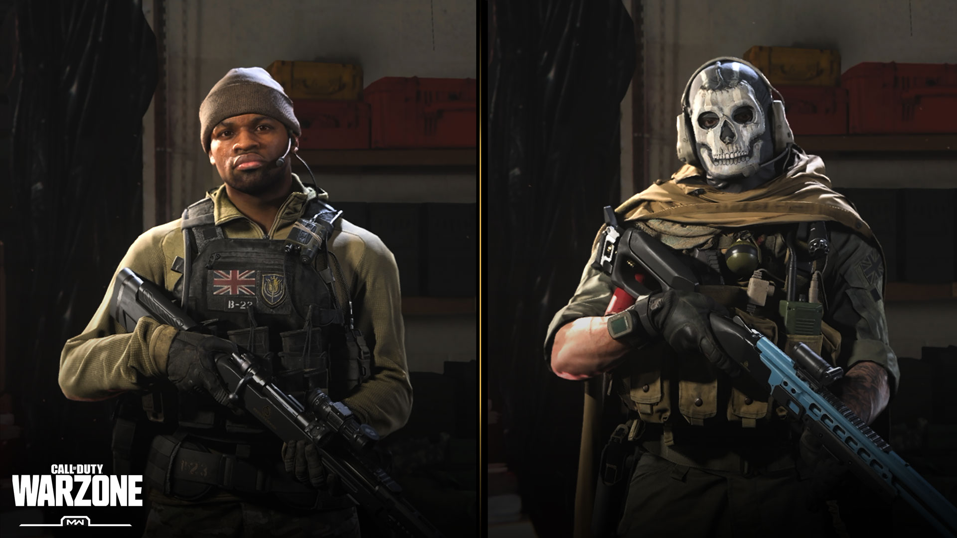 Warzone duty call of