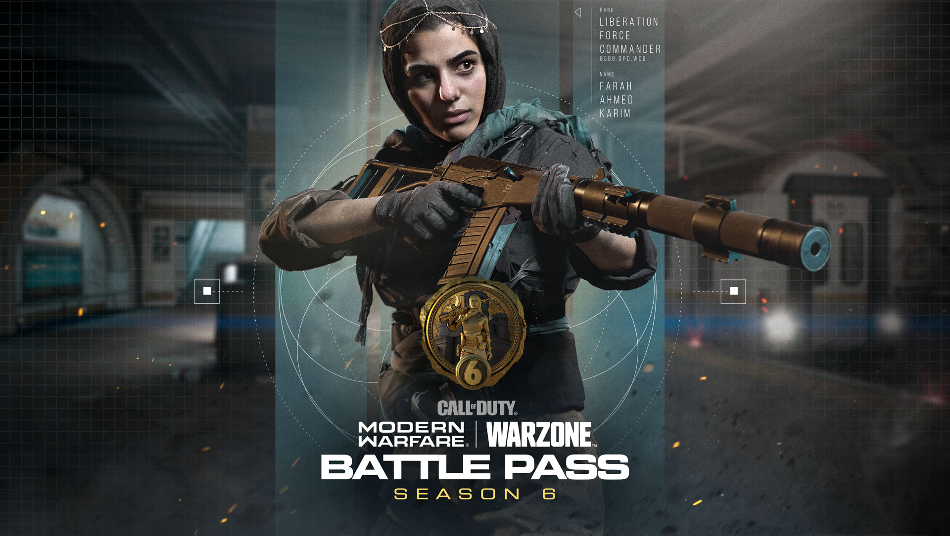 Call of Duty Modern Warfare Season 6 Battle Pass.