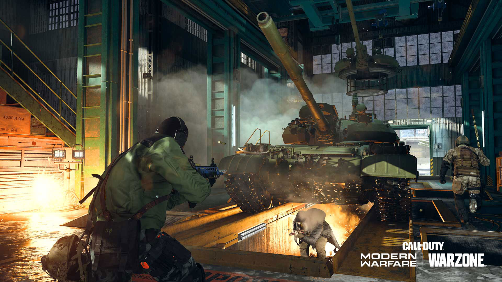 Mialstor Tank Factory Core Modes 6v6 and 10v10 in Call of Duty Modern Warfare Season 6.