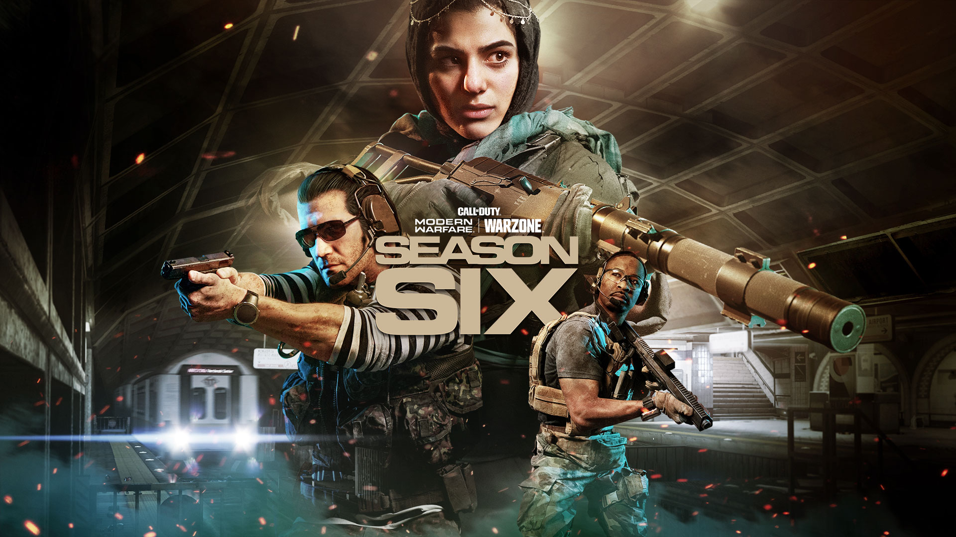 Incoming Reinforcements Warzone Subway System Return Of Farah And Nikolai Highlight A Packed Season Six Of Modern Warfare