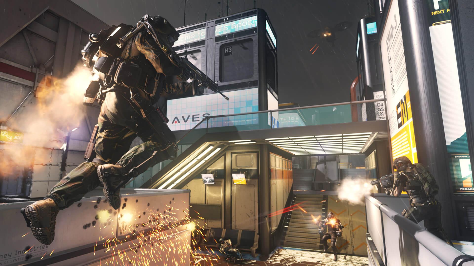 Call Of Duty Advanced Warfare Multilenguaje ESPAÑOL LATINO Y CASTELLANO XBOX 360 (Regiones FREE, NTSC-U Y PAL) 8