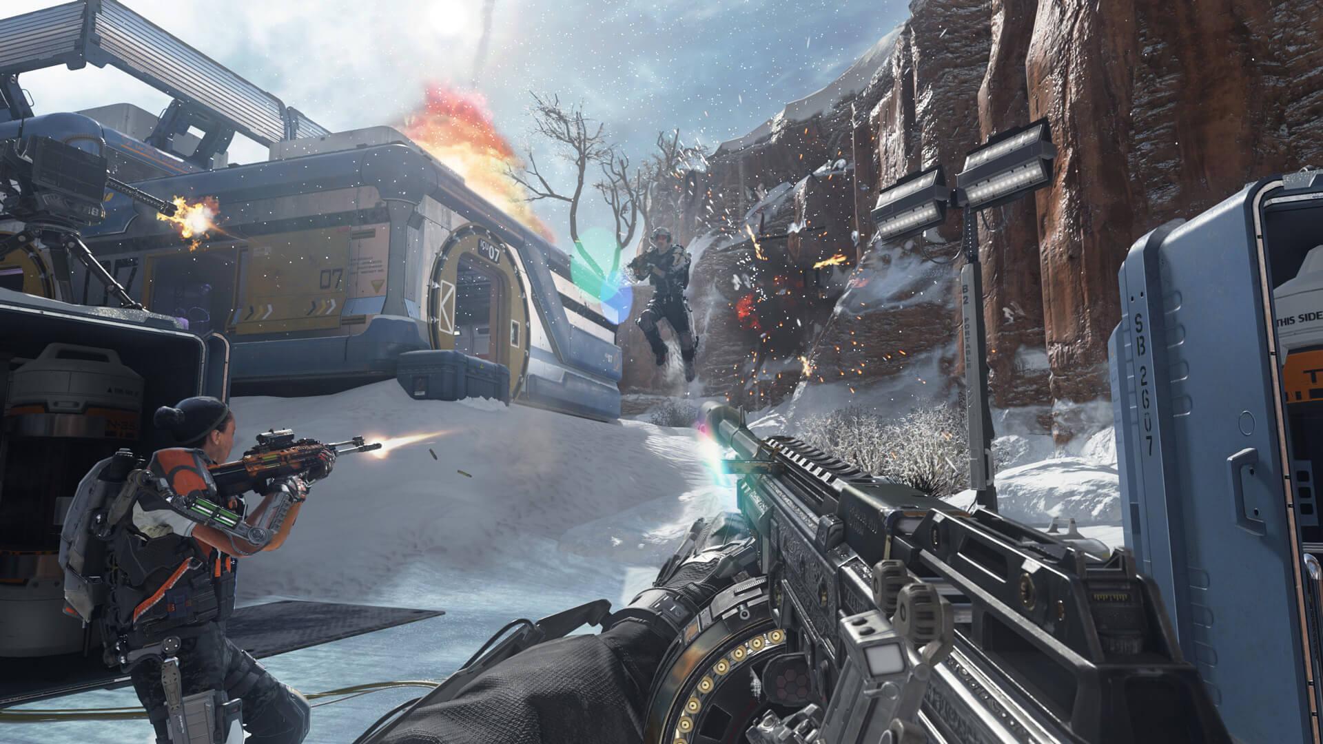 Call Of Duty Advanced Warfare Multilenguaje ESPAÑOL LATINO Y CASTELLANO XBOX 360 (Regiones FREE, NTSC-U Y PAL) 6