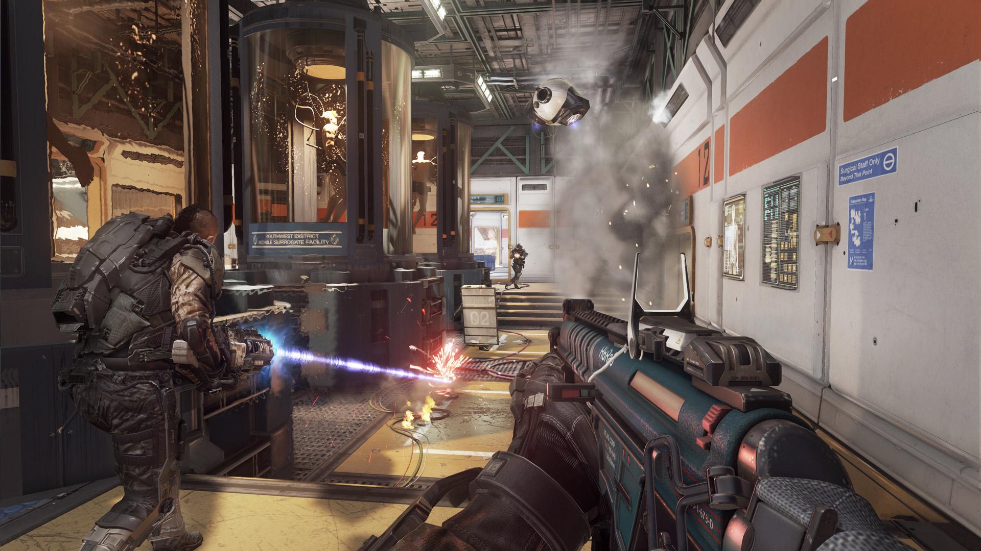 Call Of Duty Advanced Warfare Multilenguaje ESPAÑOL LATINO Y CASTELLANO XBOX 360 (Regiones FREE, NTSC-U Y PAL) 5