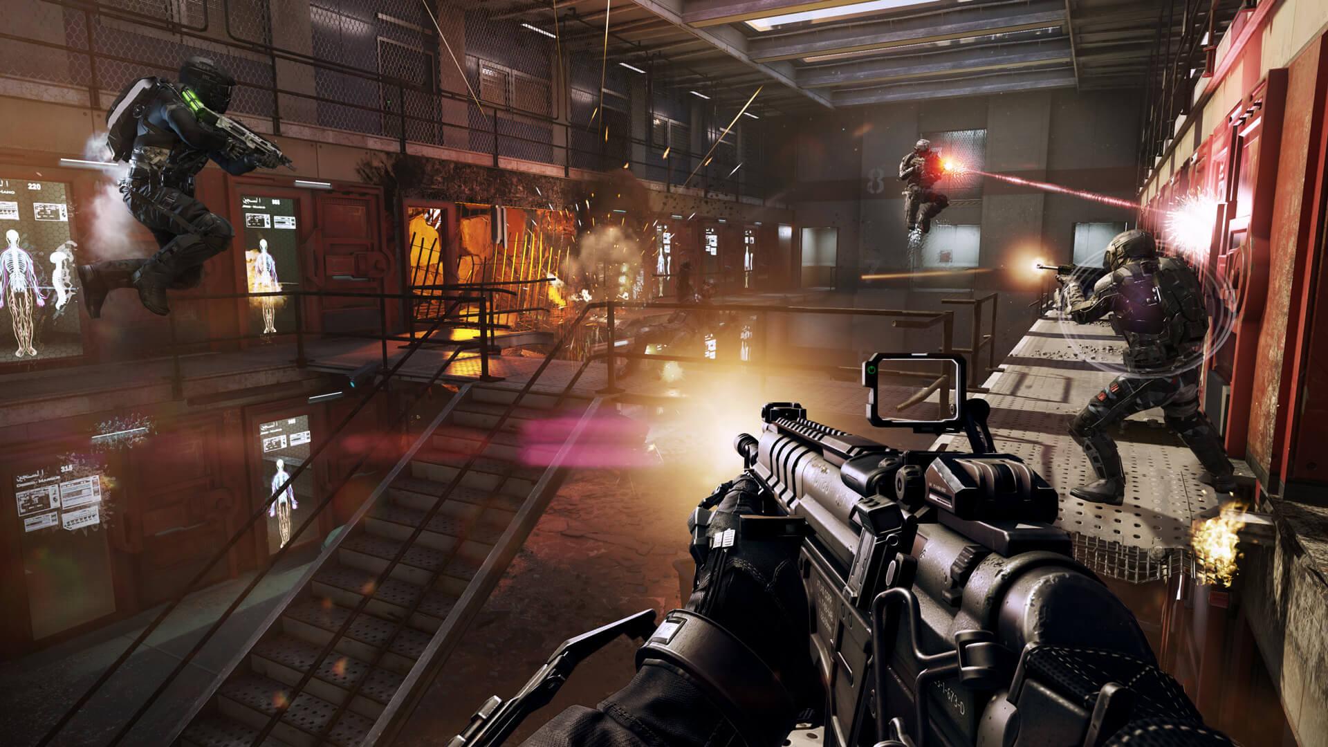 Call Of Duty Advanced Warfare Multilenguaje ESPAÑOL LATINO Y CASTELLANO XBOX 360 (Regiones FREE, NTSC-U Y PAL) 12