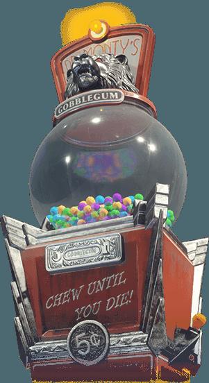 gobble gum machine