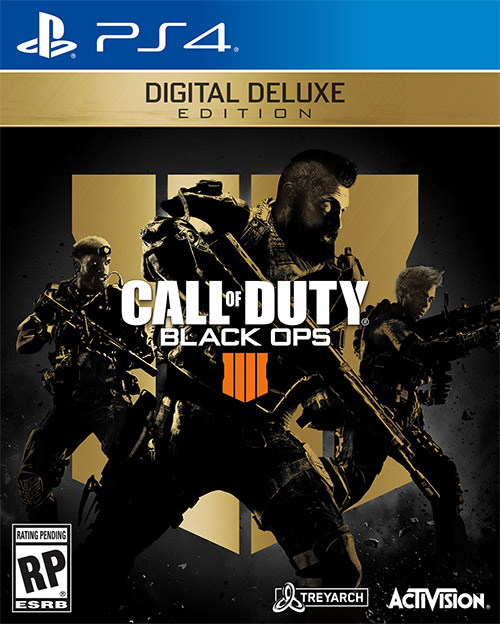 Call Of Duty Black Ops 4 Digital Deluxe Edition