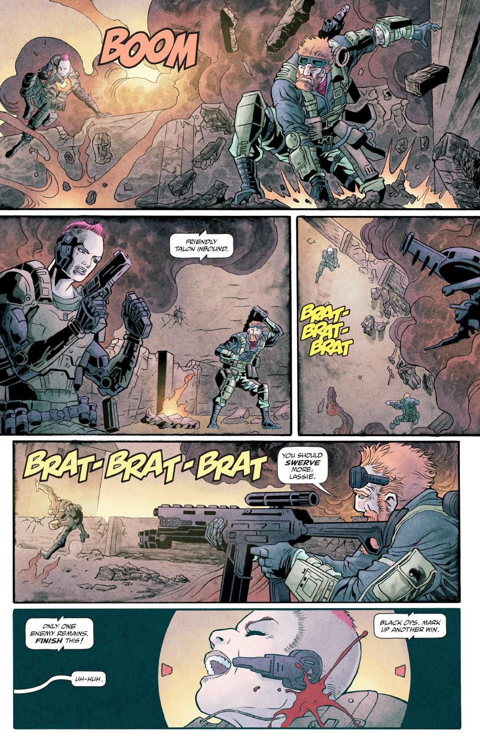 Call Of Duty Black Ops 4 Comics