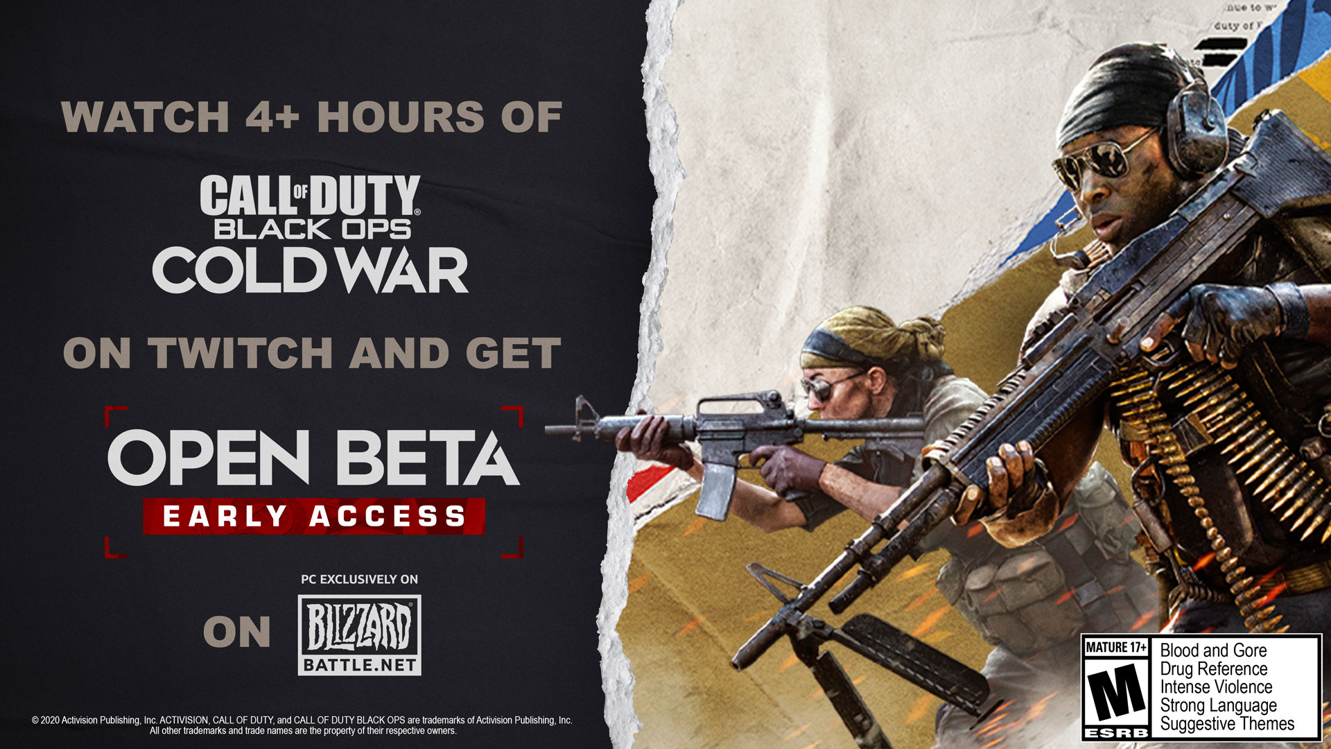 Call Of Duty Black Ops Cold War Beta Pc Roundup Min And Rec Specs Twitch Drops And Pre Load Information