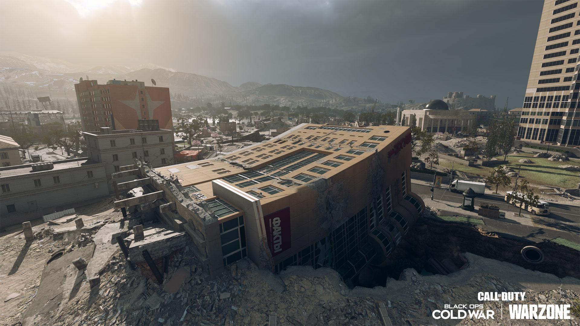 Warzone Season 6 map downtown