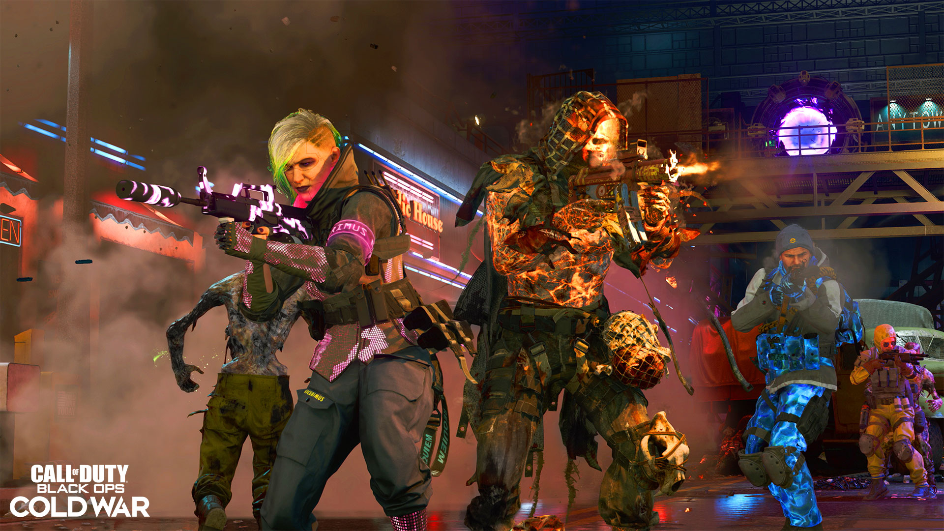 Jogabilidade do mapa de Forsaken Zombies