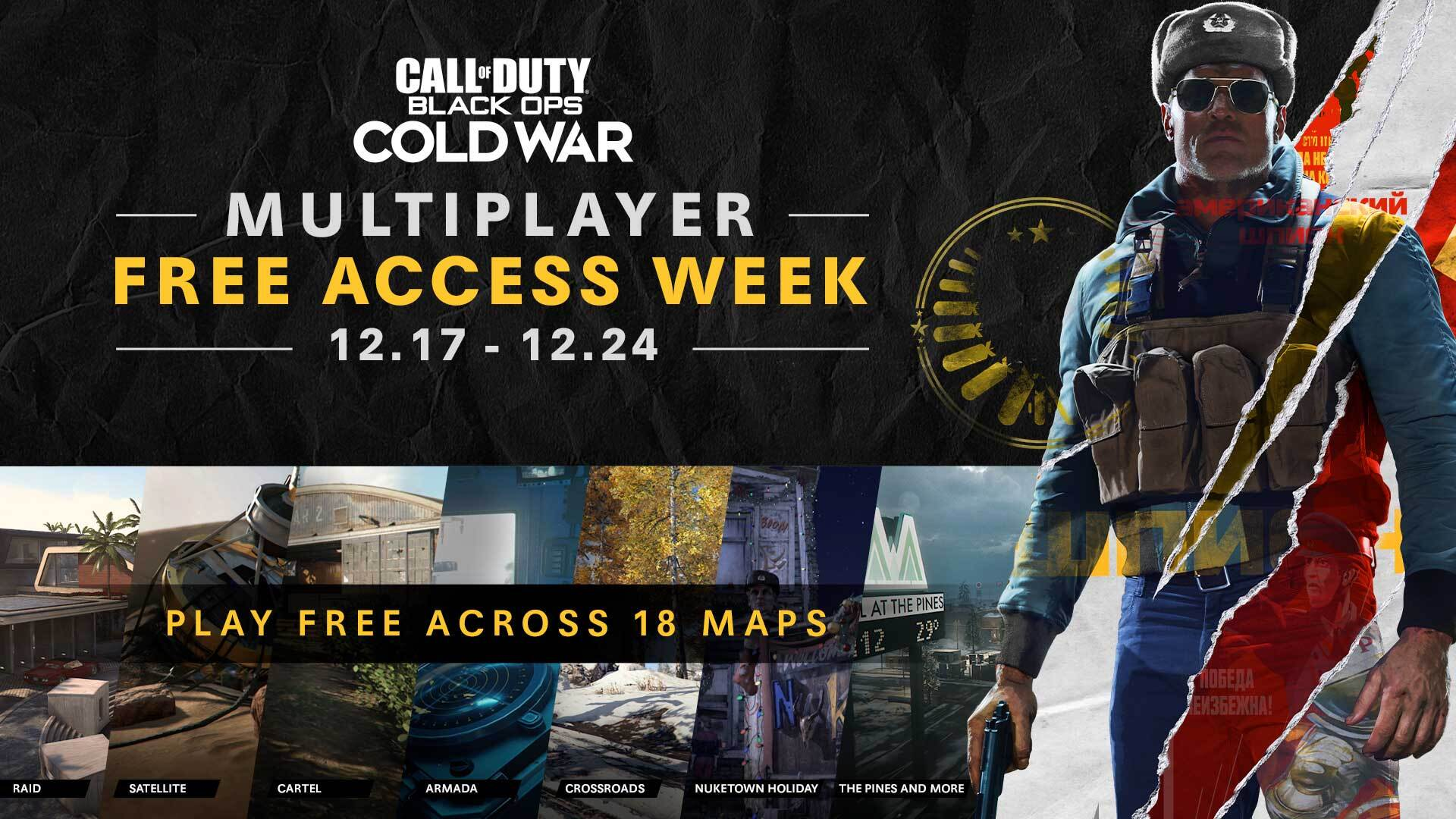 Additional Ops: Play Call of Duty®: Black Ops Cold War for Free