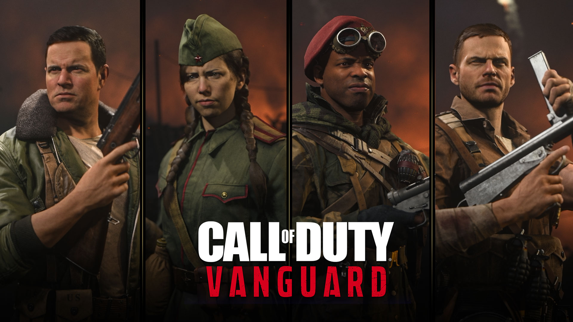 Call of Duty®: Vanguard Campaign Character Bios