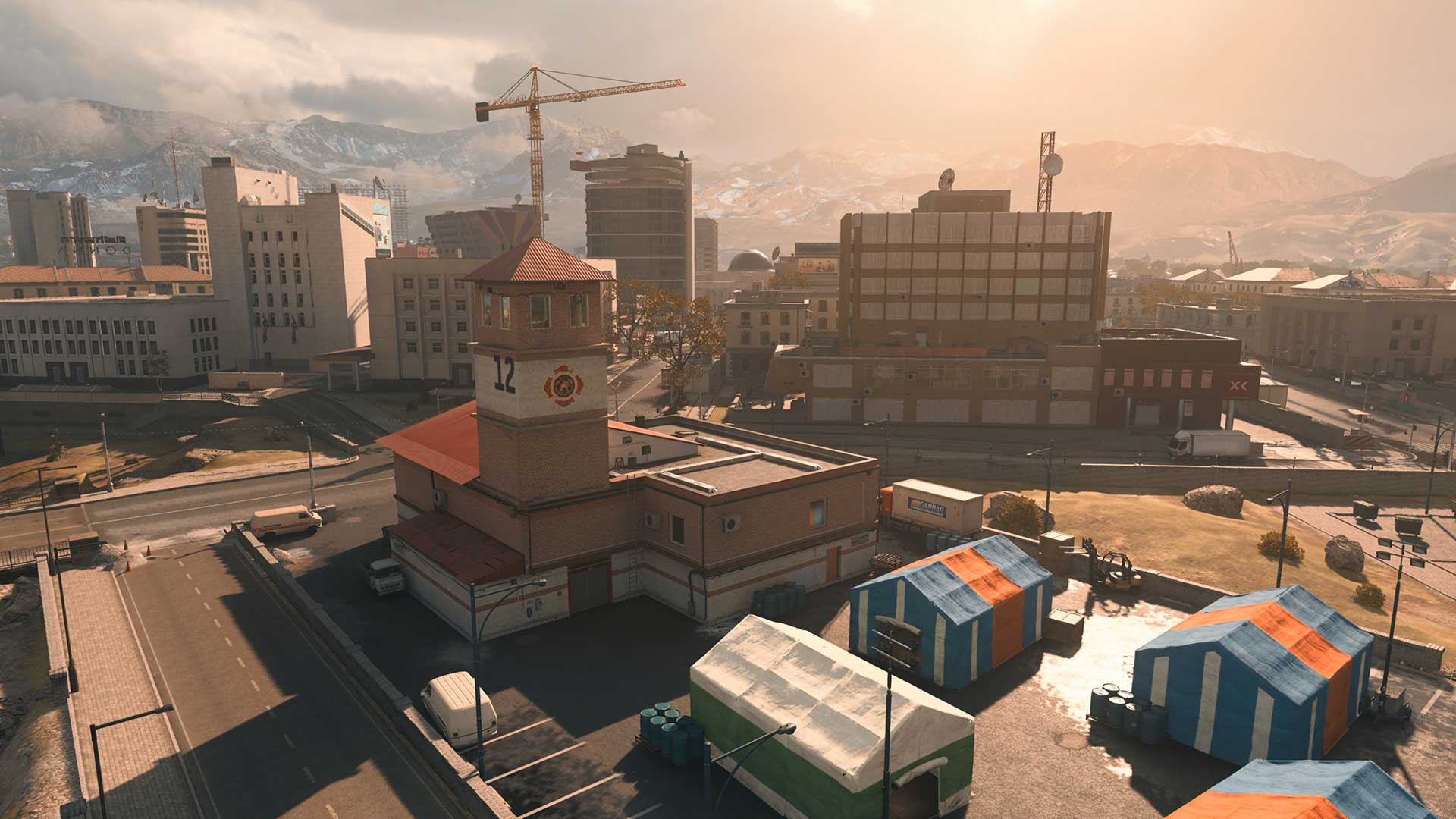 South Verdansk Downtown FD – City Overwatch