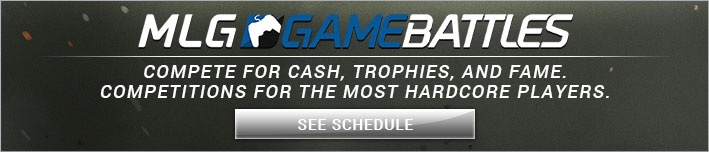 MLG GAME BATTLES: Compete for cash, trophies, and fame. Competitions for the most hardcore players.