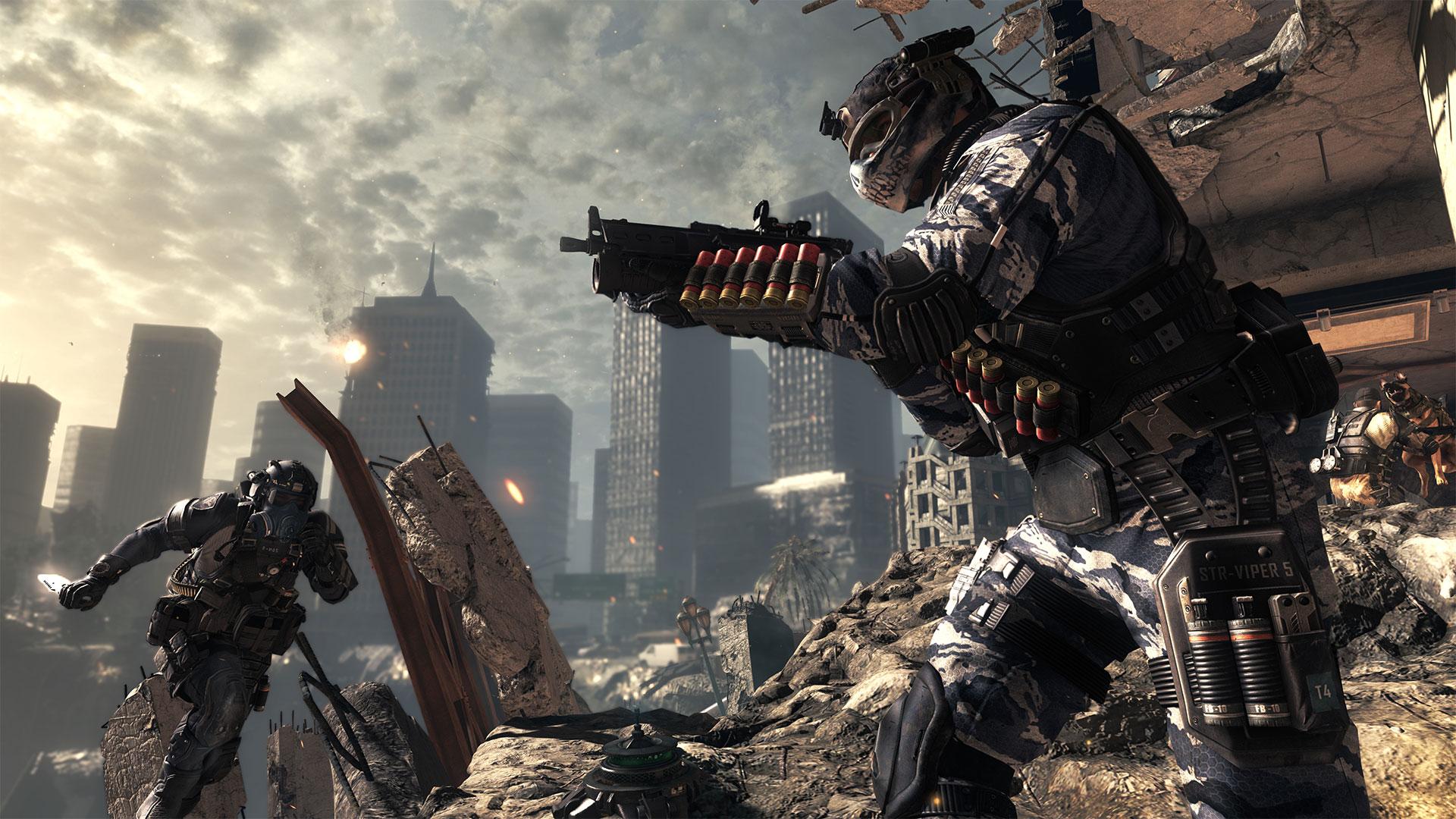 یاری بۆ كۆمپیوتهر Call of Duty Ghosts PC Game