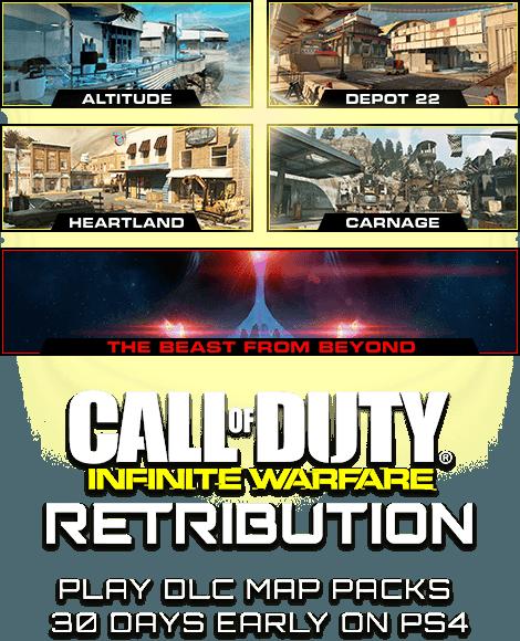 Call of Duty®: Infinite Warfare DLC 4 Call Of Duty Advanced Warfare Map Packs on