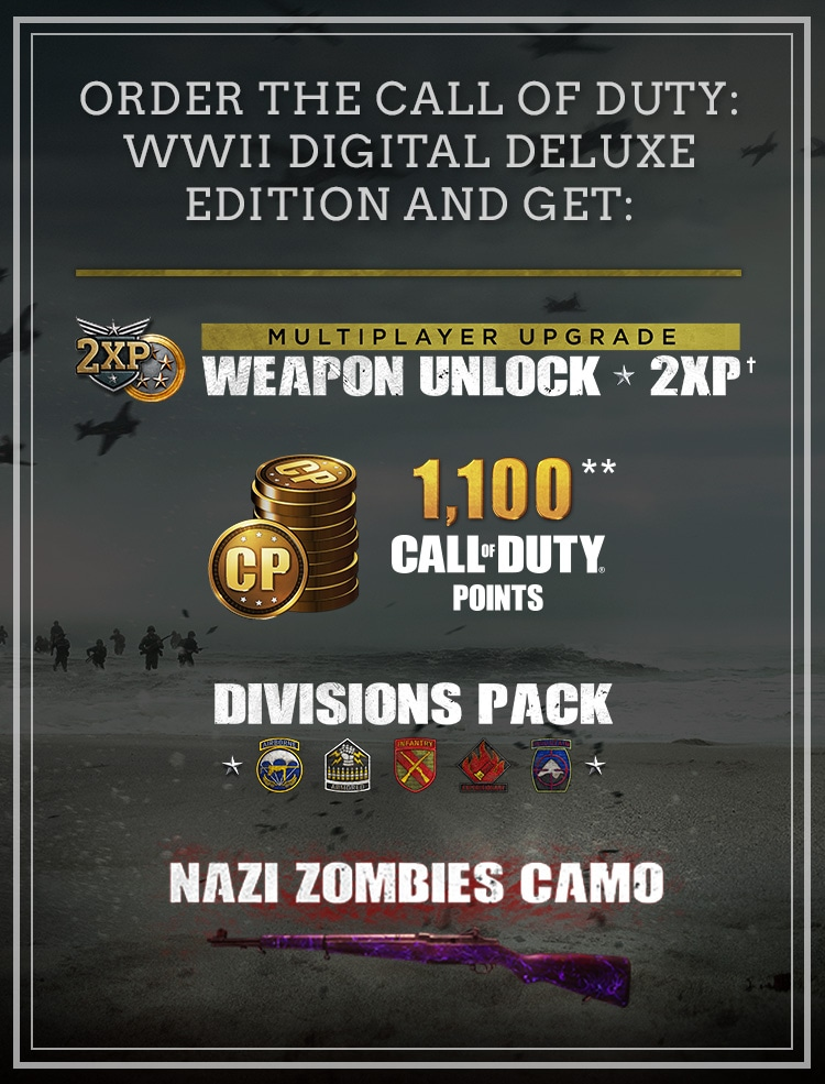 unlock weapons cod ww2 zombies