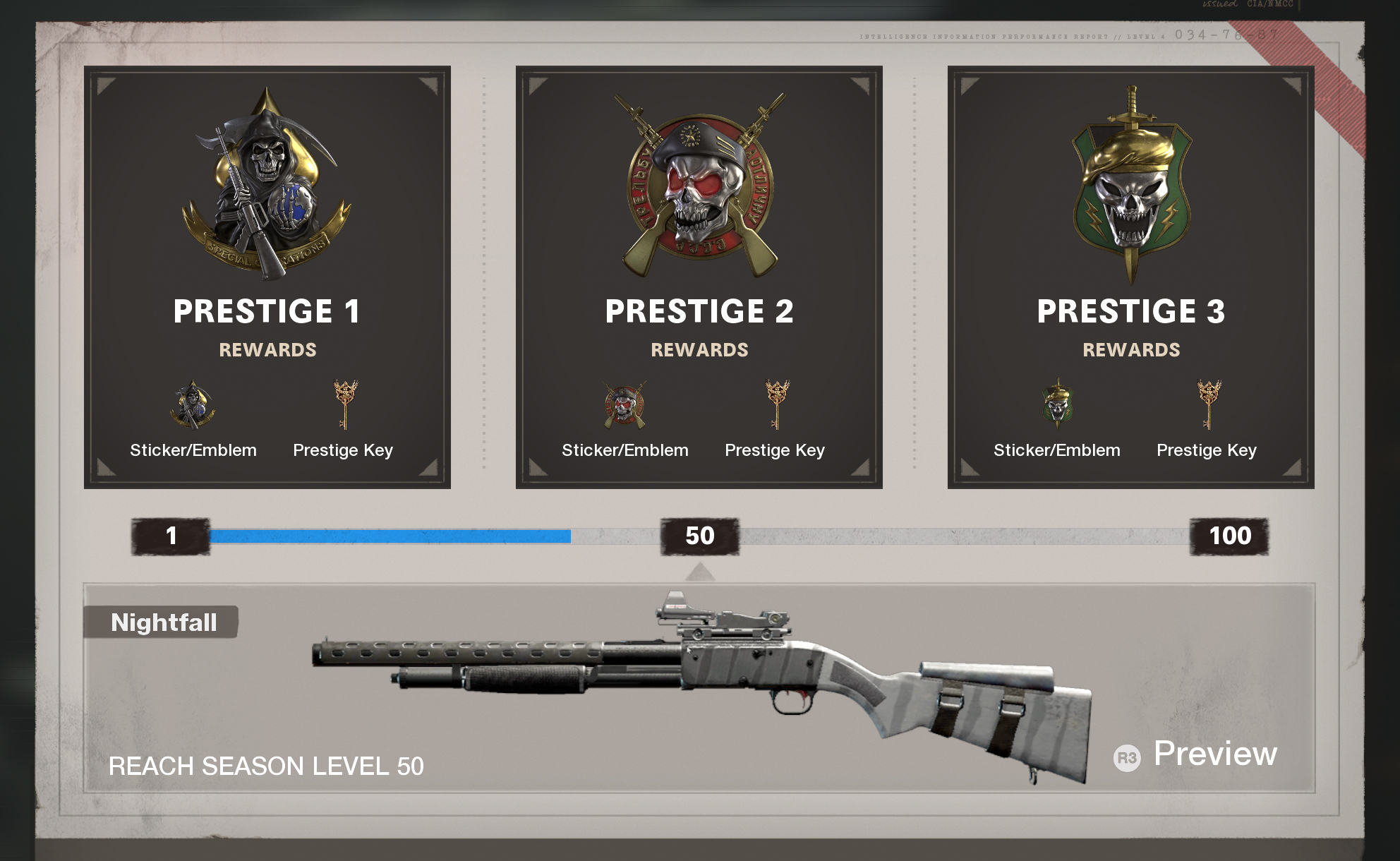 Player Progression In Black Ops Cold War