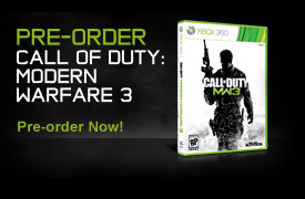 Pre-Order Call of Duty: Modern Warfare® 3